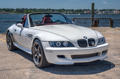 2000 BMW M Roadster in Alpine White 3 over Imola Red & Black Nappa