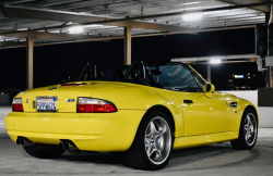 2000 BMW M Roadster in Dakar Yellow 2 over Black Nappa