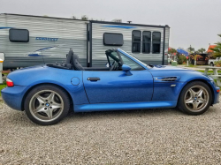2000 BMW M Roadster in Estoril Blue Metallic over Black Nappa