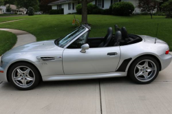2000 BMW M Roadster in Titanium Silver Metallic over Dark Gray & Black Nappa