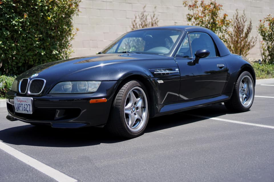 2002 BMW M Roadster in Black Sapphire Metallic over Black Nappa