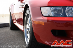 2002 BMW M Roadster in Imola Red 2 over Imola Red & Black Nappa