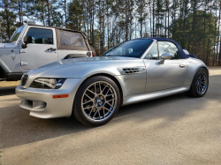 2002 BMW M Roadster in Titanium Silver Metallic over Other