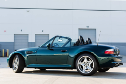 1998 BMW M Roadster in Boston Green Metallic over Black Nappa