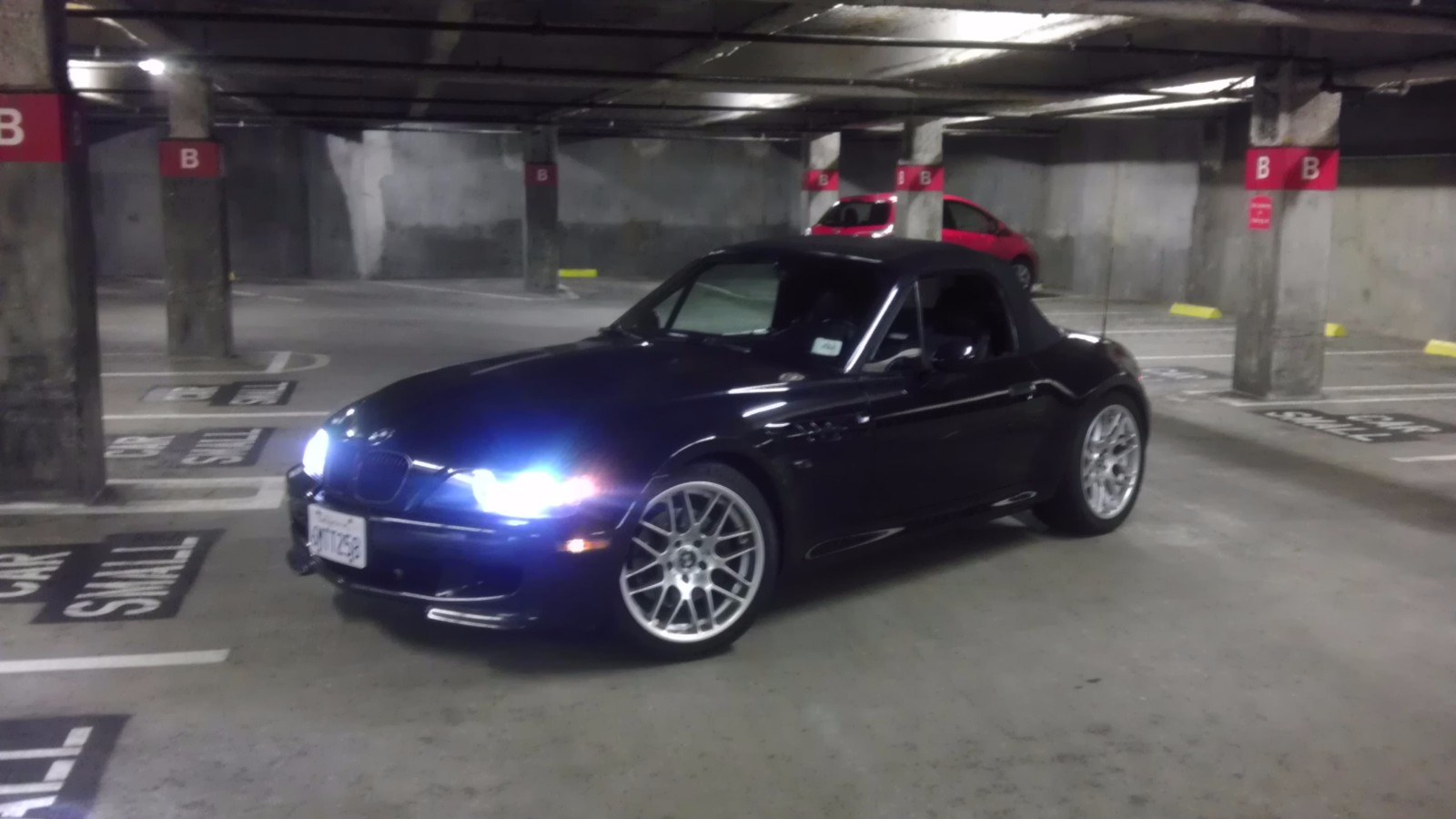 1998 BMW M Roadster in Cosmos Black Metallic over Other