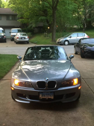 1998 BMW M Roadster in Other over Black Nappa
