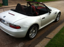 1999 BMW M Roadster in Alpine White 3 over Imola Red & Black Nappa