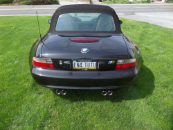 1999 BMW M Roadster in Cosmos Black Metallic over Dark Gray & Black Nappa