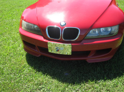1999 BMW M Roadster in Imola Red 2 over Black Nappa