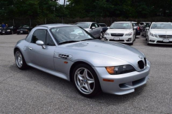 1998 BMW M Roadster in Arctic Silver Metallic over Dark Gray & Black Nappa
