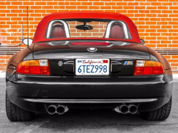 1998 BMW M Roadster in Cosmos Black Metallic over Imola Red & Black Nappa