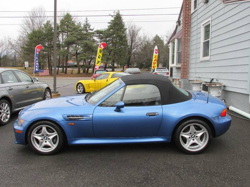 1998 BMW M Roadster in Estoril Blue Metallic over Black Nappa