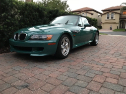 1998 BMW M Roadster in Evergreen over Evergreen & Black Nappa