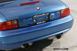 1998 BMW M Roadster in Estoril Blue Metallic over Estoril Blue & Black Nappa