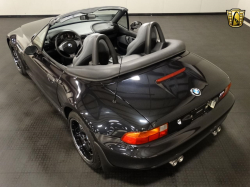 1998 BMW M Roadster in Cosmos Black Metallic over Dark Gray & Black Nappa
