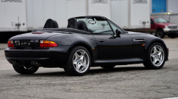1998 BMW M Roadster in Cosmos Black Metallic over Black Nappa