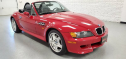 1998 BMW M Roadster in Imola Red 2 over Dark Gray & Black Nappa