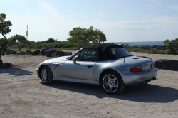 1998 BMW M Roadster in Arctic Silver Metallic over Black Nappa