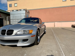 1998 BMW M Roadster in Arctic Silver Metallic over Imola Red & Black Nappa