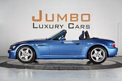 1999 BMW M Roadster in Estoril Blue Metallic over Estoril Blue & Black Nappa