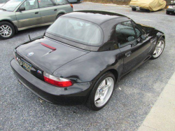 1999 BMW M Roadster in Cosmos Black Metallic over Black Nappa