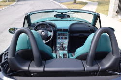 1999 BMW M Roadster in Evergreen over Evergreen & Black Nappa
