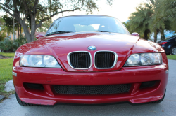 1999 BMW M Roadster in Imola Red 2 over Imola Red & Black Nappa