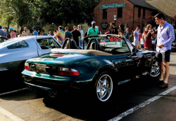 1999 BMW M Roadster in Boston Green Metallic over Dark Gray & Black Nappa