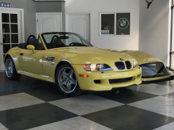 2000 BMW M Roadster in Dakar Yellow 2 over Dark Gray & Black Nappa