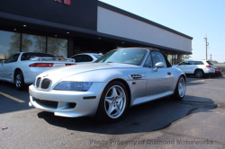 1999 BMW M Roadster in Arctic Silver Metallic over Black Nappa