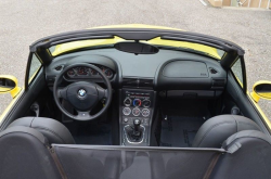 1999 BMW M Roadster in Dakar Yellow 2 over Black Nappa