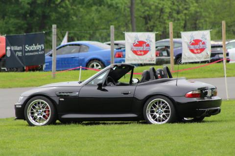 2000 BMW M Roadster in Cosmos Black Metallic over Black Nappa