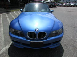 2000 BMW M Roadster in Estoril Blue Metallic over Estoril Blue & Black Nappa