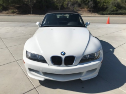 2000 BMW M Roadster in Alpine White 3 over Black Nappa