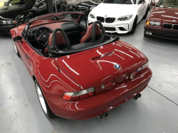 2000 BMW M Roadster in Imola Red 2 over Imola Red & Black Nappa