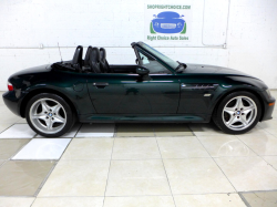 2000 BMW M Roadster in Oxford Green 2 Metallic over Black Nappa