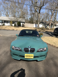 2000 BMW M Roadster in Evergreen over Evergreen & Black Nappa