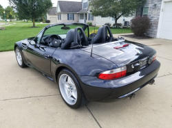 2000 BMW M Roadster in Cosmos Black Metallic over Dark Gray & Black Nappa