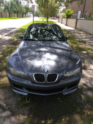 2000 BMW M Roadster in Steel Gray Metallic over Dark Gray & Black Nappa