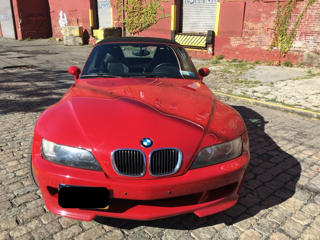 2000 BMW M Roadster in Imola Red 2 over Black Nappa