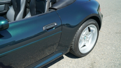 2000 BMW M Roadster in Oxford Green 2 Metallic over Dark Gray & Black Nappa