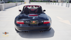 2001 BMW M Roadster in Black Sapphire Metallic over Imola Red & Black Nappa