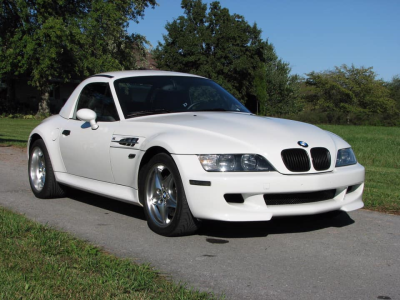 2001 BMW M Roadster in Alpine White 3 over Black Nappa