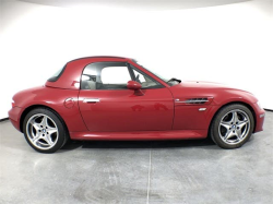 2001 BMW M Roadster in Imola Red 2 over Dark Beige Oregon
