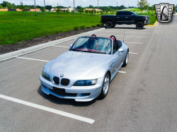 2001 BMW M Roadster in Titanium Silver Metallic over Imola Red & Black Nappa