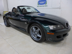 2001 BMW M Roadster in Oxford Green 2 Metallic over Dark Beige Oregon