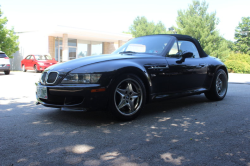 2001 BMW M Roadster in Black Sapphire Metallic over Black Nappa