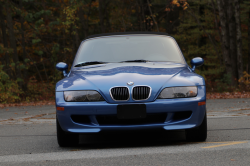2001 BMW M Roadster in Estoril Blue Metallic over Black Nappa