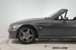 2001 BMW M Roadster in Steel Gray Metallic over Black Nappa