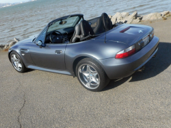 2001 BMW M Roadster in Steel Gray Metallic over Dark Gray & Black Nappa